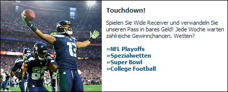 NFL-Wetten bei Bet-at-home