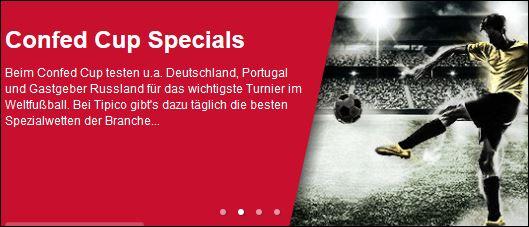 Tipico Confed Cup Specials