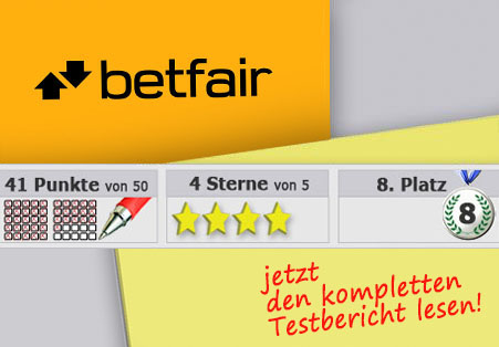 Betfair im Test