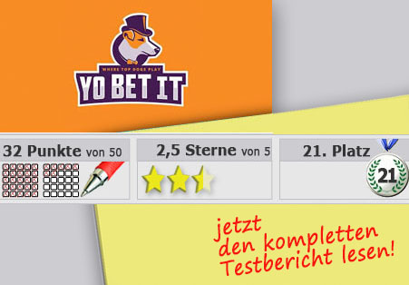 Wettanbieter Yobetit Startseite