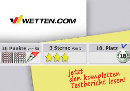Wettanbieter Wetten.com Startseite