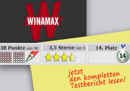 Wettanbieter Winamax Startseite