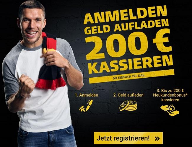 XTiP Bonus 200 Euro WM 2018
