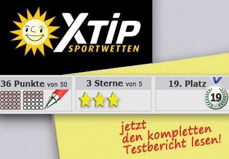 Wettanbieter XTip Startseite