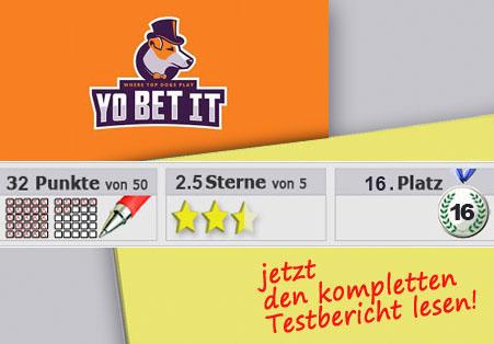 Wettanbieter Yobetit im Test